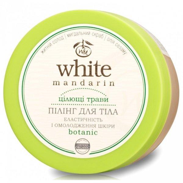 Organiczny Peeling do Ciała Ziołowy, White Mandarin