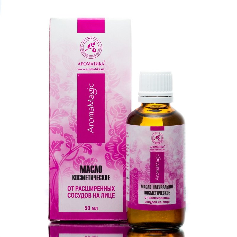 Cosmetic Oil for Couperose Skin, 50ml Aromatika