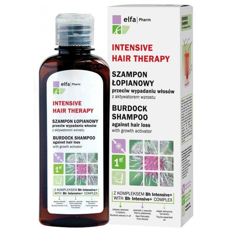 Intensive Hair Therapy Burdock Shampoo Against Hair Loss, 200ml