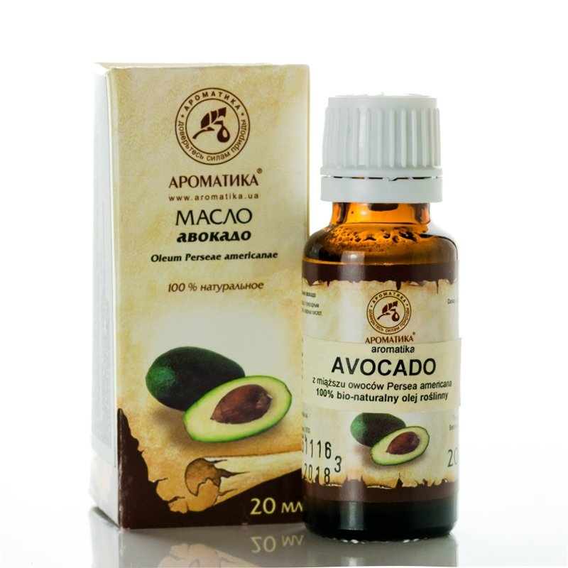 Avocado Natural Oil, Aromatika