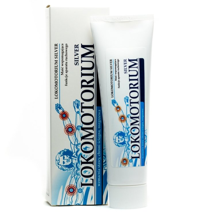 Recovering Cream Balm Lokomotorium Silver, 80 ml