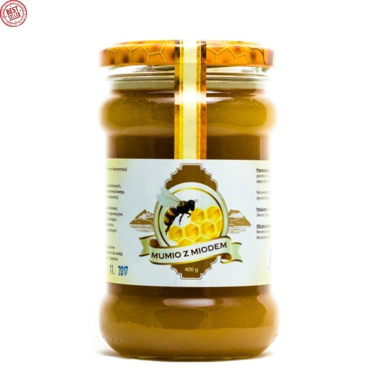 Mumio (Mumijo) with Honey, 100% Natural, 400 g