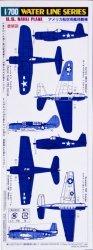Hasegawa WLS514 1/700 U.S. Naval Planes Set (Carrier Based)