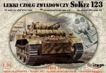 Mirage 35108 1/35 SdKfz.123 LIGHT RECCE TANK - LUCHS