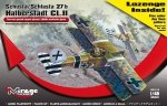 Mirage 481401 1/48 Schusta/Schlasta 27b Halberstadt CL.II + LOZENGE SET