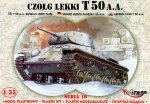 Mirage 35106 1/35 T-50 A.A. Light Tank