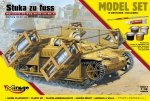 Mirage 835098 1/35 [MODEL SET] 'STUKA zu FUSS' self-propelled rocket launcher UE-sWG 40/32cm Wk Fl