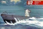 Mirage 400203 1/400 U2 typ II A niemiecki okręt podwodny
