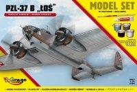 Mirage 872092 1/72 [MODEL SET] PZL-37B 'ŁOŚ' [Polski Samolot Bombowy]