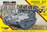 Mirage 835097 1/35 [MODEL SET] UE[f]-sWG [Samobieżna Wyrzutnia Rakiet 40/28 cm Wk Spr]