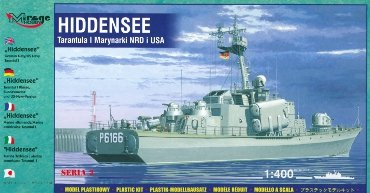 Mirage 40232 1/400 HIDDENSEE (GERMAN NAVY / US NAVY TARANTUL I)
