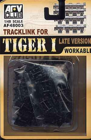 AFV Club AF48003 1/48 Tracks for Pz.Kpfw.VI Tiger I Late