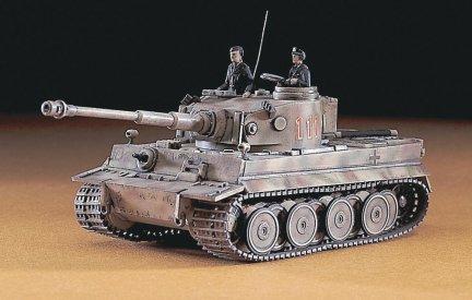 Hasegawa MT08 1/72 Pz.Kpfw VI Tiger Ausf.E