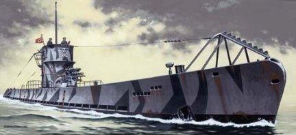Mirage 40045 1/400 U-40 typ U-IX A Turm I niemiecki okręt podwodny