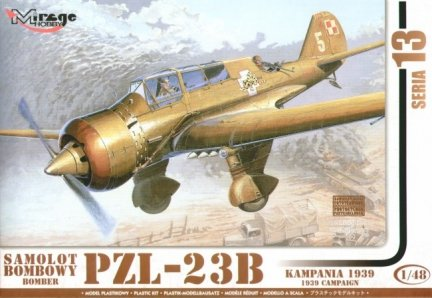 Mirage 481305 1/48 PZL-23B 'KARAŚ' Samolot Bombowy Kampania 1939