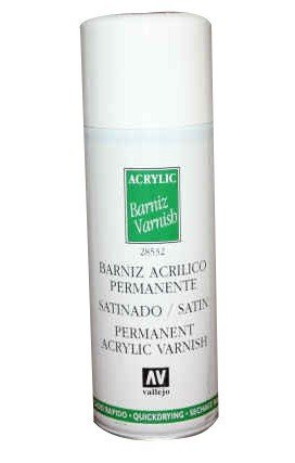 Vallejo 28532 | 400 ml | Satin Varnish Spray