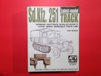 AFV Club AF35070 1/35 Sd.Kfz251 latest model track