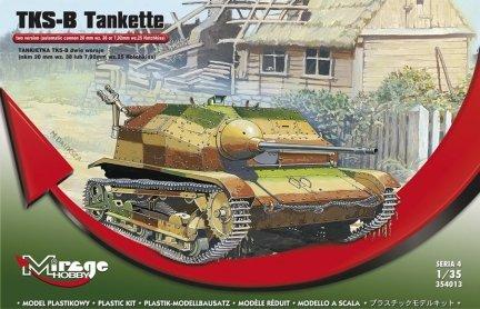 Mirage 354013 1/35 TKS-B Tankietka (Dwie Wersje)