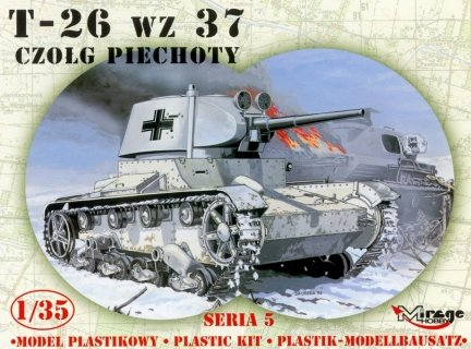 Mirage 355008 1/35 T-26/BT wz.37 Czołg Piechoty