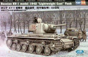 Hobby Boss MC84814 1/48 KV-1 model 1942 Lightweight Cast