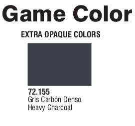 Game Color (72155) Extra Opaque | Heavy Charcoal 17 ml.