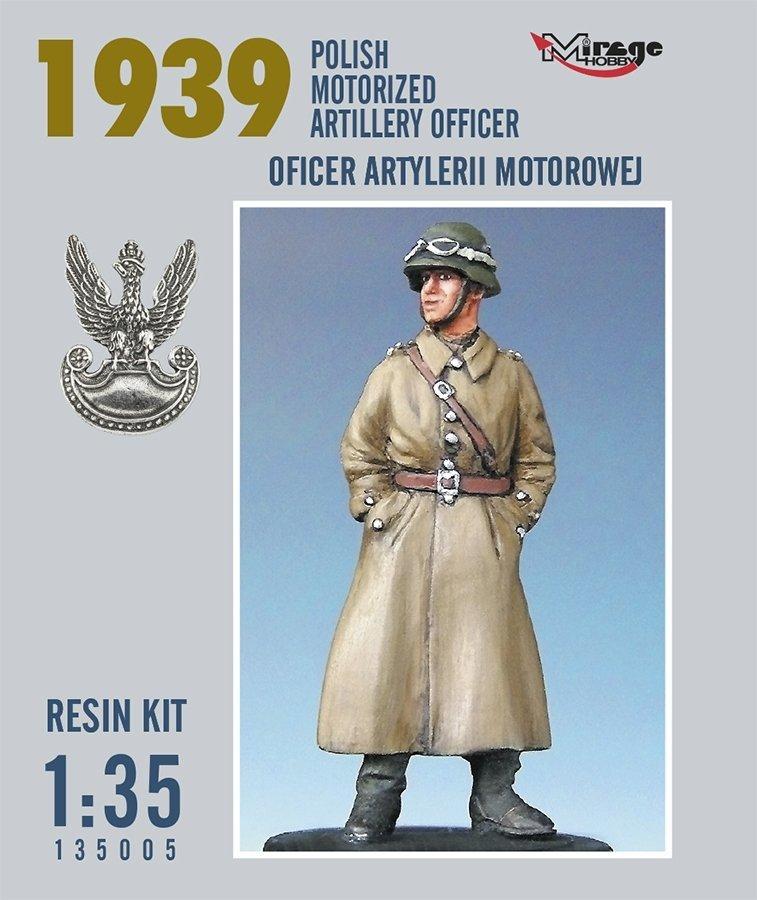Mirage 135005 1:35 Oficer Artylerii Motorowej (Rok 1939) [resin Kit]