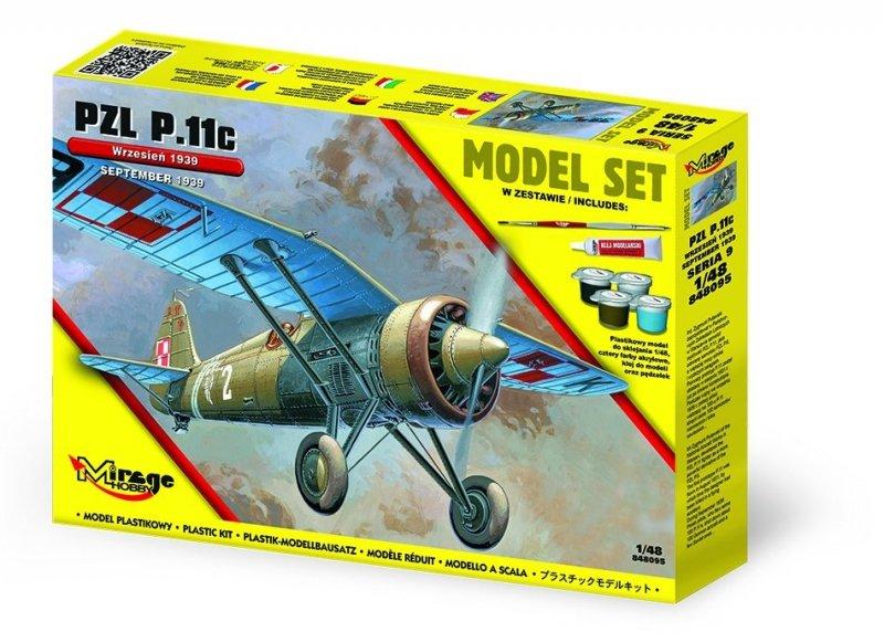 Mir-848095 ( Model Set) PZL.11c Wrzesień 1939 r.