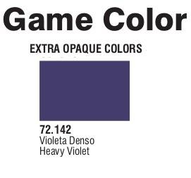 Game Color (72142) Extra Opaque | Heavy Violet 17 ml.