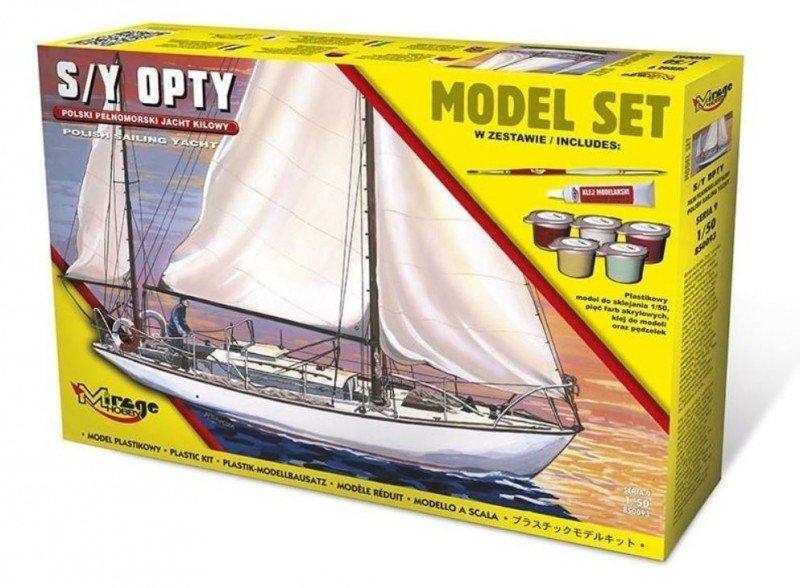 Mirage 850093 1/50 [MODEL SET] Jacht S/Y Opty