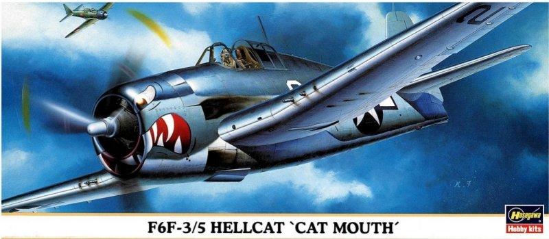 Hasegawa 00181 1/72 F6F-3/5 Hellcat 'CAT MOUTH'
