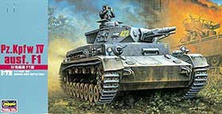 Hasegawa MT41 1/72 Pz.Kpfw. IV ausf. F1 (German Army Battle Tank)