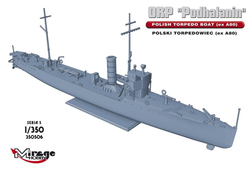Mirage 350506 1/350 ORP 'Podhalanin' Polski Torpedowiec (ex A80)