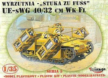 Mirage 35519 1/35 UE-sWG 40/32cm Wk Fl Wyrzutnia 'Stuka zu Fuss'