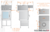 Okap uniwersalny nad piece konwekcyjne i konwekcyjno-parowe DM-S 3629  600x1000x400