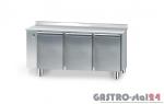 Stół chłodniczy bez agregatu z płyta wierzchnia nierdzewną DM 90003 1625x600x850