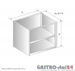 Moduł szafkowy otwarty DM 3115.1  szerokość: 585 mm  (600x585x650)