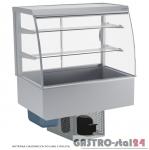 Witryna chłodnicza po łuku z roletą DM-94950.4R wym. 1420x714x1429mm