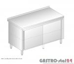 Stół z szafką nieprzelotowy DM 3118 N szerokość: 600 mm (900x600x850 )