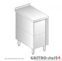 Stół z szafką DM 3108 szerokość: 600 mm (400x600x850)