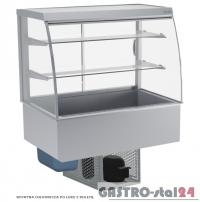 Witryna chłodnicza po łuku z roletą DM-94950.3R wym. 1095x614x1429mm
