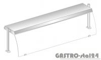 Nadstawka z grzaniem i oświetleniem halogenowo-kwarcowym DM 94580 G-E 1912x460x470