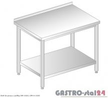 Stół do pracy z półką DM 3103 szerokość: 600 mm (600x600x850)