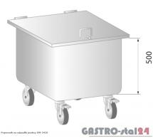 Pojemnik na odpadki jezdny DM 3410 400x500x650