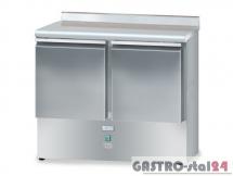 Stół chłodniczy bez agregatu z płytą wierzchnią nierdzewną DM 90044 950x700x850