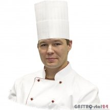 Czapka kucharska Premium h=250