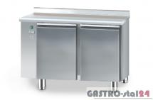 Stół chłodniczy piekarniczy bez agregatu z płytą wierzchnią nierdzewną DM 90401 1275x800x850