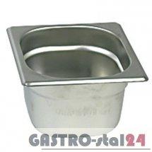 Pojemnik ze stali nierdzewnej GN 1/6 wym.176x162  (H=65 mm)