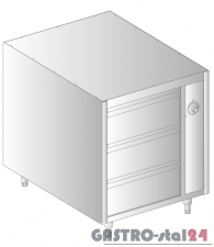 Szafka podgrzewana z szufladami DM 94375-S.2 800x790x720