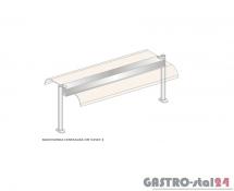 Nadstawka centralna z grzaniem i oświetleniem DM-94587 G-E wym. 1573x600x470