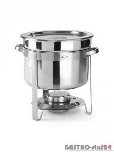 Podgrzewacz do zup na pastę - okrągły, 10 l